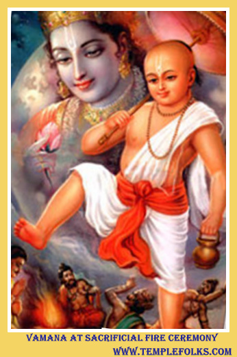 Vamana Avatar Story Temple Folks Products Ancient And